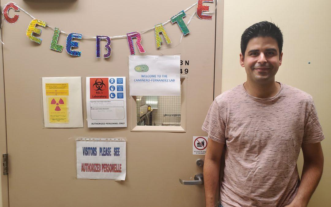 Congratulations Alberto!